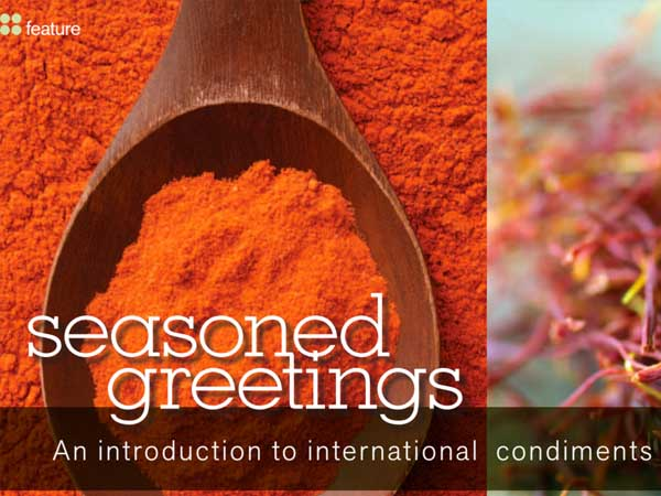 Catering Magazine - Seasoned Greetings - Article about David Turk